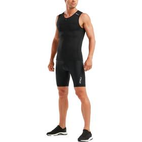 2XU Active Camiseta Triatlón Hombre, black/black